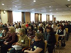 Участники Девятого Уральского налогового форума. 5 апреля 2007 г.