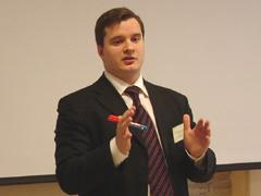 Narrator and author of the seminar Zhdanuhin D.